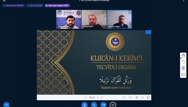 Kuran'ı Kerim ve Osmanlı Türkçesi eğitimleri başladı