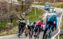 Büyükşehirli bisikletçi Vitaly Buts 'Dağların Kralı' ödülünü aldı