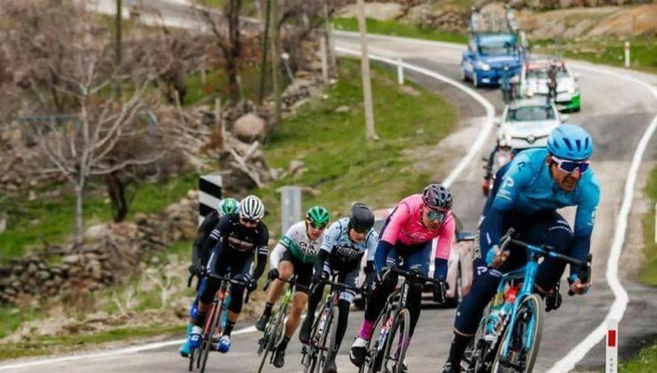 Cumhurbaşkanlığı Türkiye Bisiklet Turu Alanya – Kemer Etabı Ödül Dağılımı