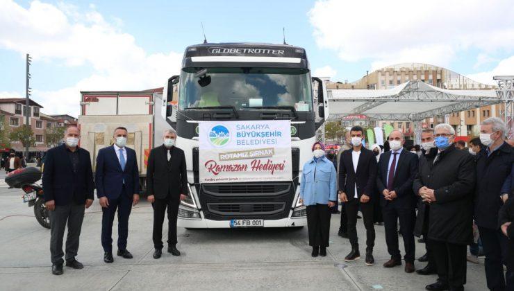 """""""Gönül köprüsü Sakarya'dan Şırnak'a uzanıyor"""""""