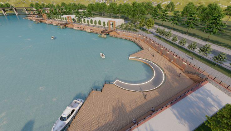 """""""Sakarya Nehri kıyısı yeni yaşam alanı olacak"""""""