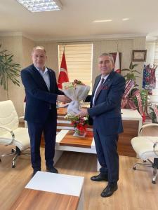 AK Parti Adapazarı ilçe Başkanı ve yönetimi ASKF ziyaret etti.