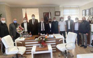 AK Parti Erenler ilçe teşkilatından ASKF ziyaret