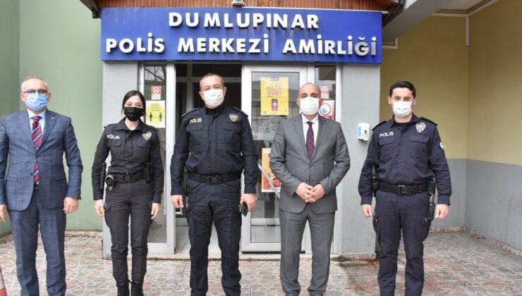 BAŞKAN FEVZİ KILIÇ POLİS HAFTASINI KUTLADI