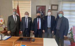 Bizim Turgut tan ASKF hayırlı olsun ziyareti