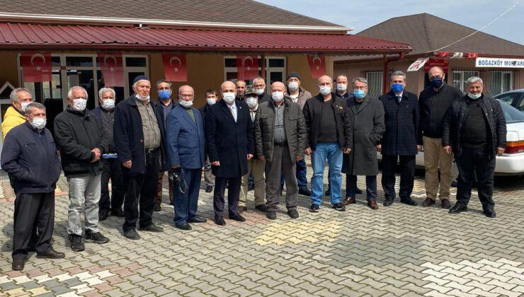 Başkan Kılıçaslan Boğazköy, Kışlaçay ve Doğançay köylerini ziyaret etti