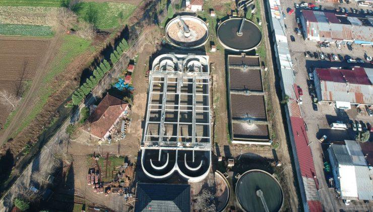 Akyazı Atıksu Arıtma Tesisi kapasite artırma çalışmalarının ilk etabı tamamlandı