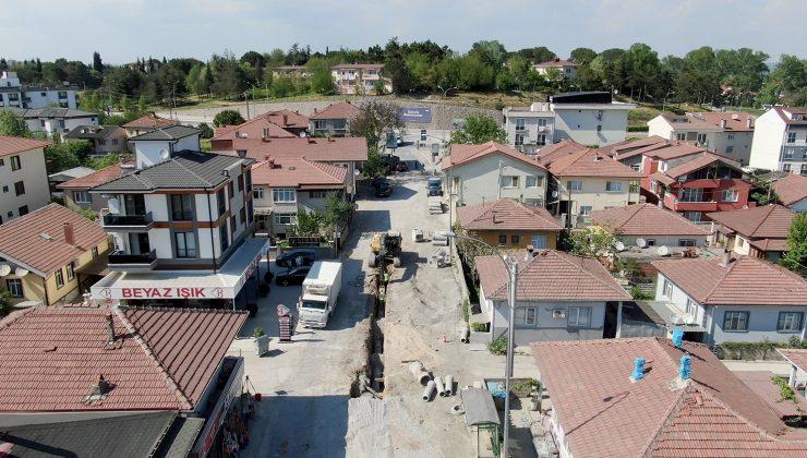 32 Evler Mahallesi'nde altyapı çalışmaları tamamlanıyor
