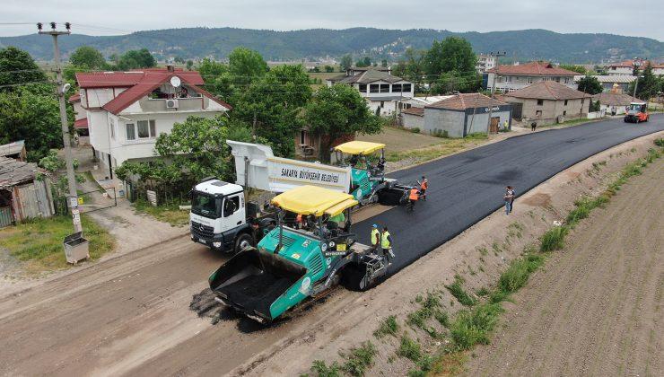 Süleymanbey Mahallesi'nde asfalt çalışmaları kısa sürede tamamlandı