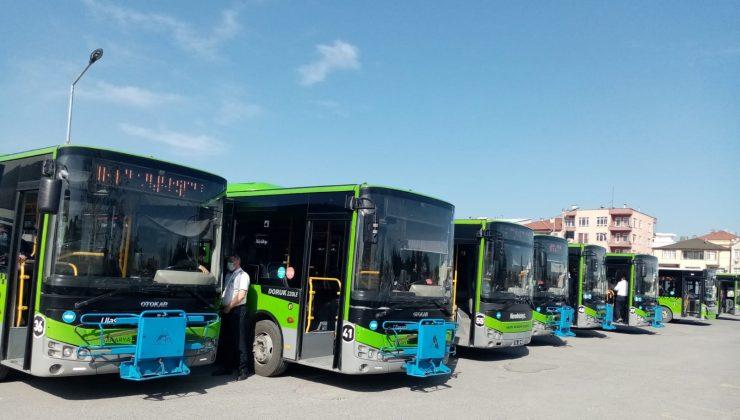 ALES için Büyükşehir ulaşım hizmetleri aralıksız bir şekilde devam etti