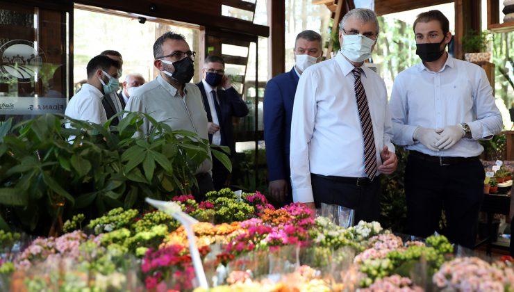 Fidan ve Süs bitkiciliği satış merkezinde çalışmalar tamamlandı