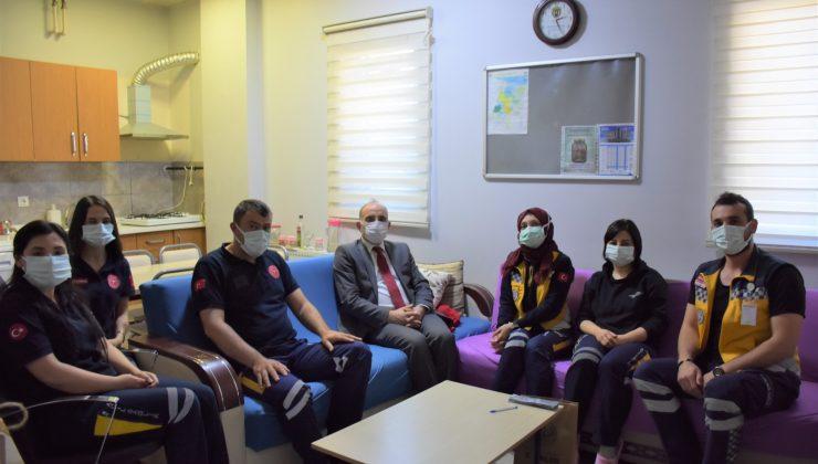 Erenler Belediye Başkanı Fevzi Kılıç'tan Anneler Günü ziyaretleri