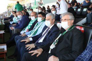 Başkan Yüce, Kırşehir'de Sakaryaspor'un yanındaydı Final biletini Sakarya'da alacağız