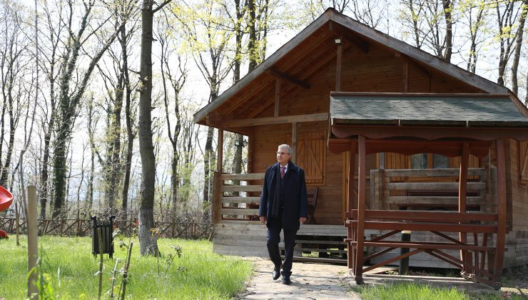 """""""İl Ormanı Tabiat Parkı ile vatandaşlar doğanın en güzel haliyle buluşacak"""""""