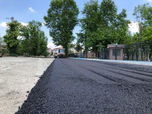 Millet Bahçesi'ndeki o güzergah asfaltla buluşturuldu