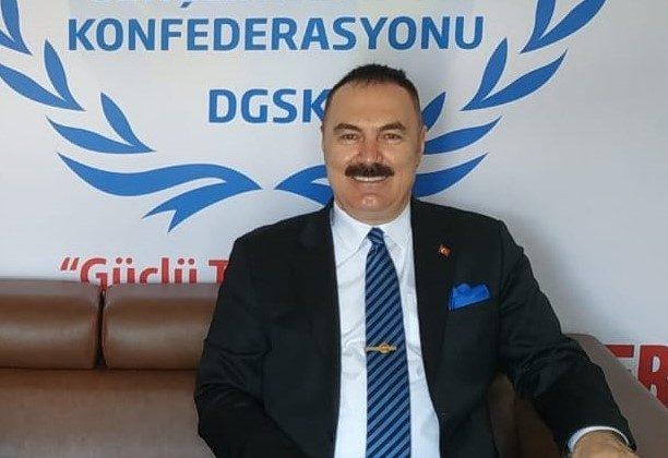 Dünya Gençlik ve Spor Konfederasyonu Genel Başkanı Türker Aygündüz;