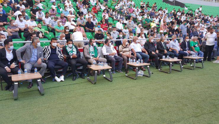 Sakaryaspor'un Olağanüstü Genel Kurul