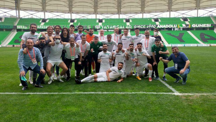 Sakaryaspor-Etimesgut Belediyespor: 4-2