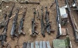 Pençe-Yıldırım Operasyonu Kapsamında Bir Mağarada Çok Sayıda Silah ve Mühimmat Ele Geçirildi