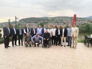 ASKF Yönetimi Geyve İlçesinde toplandı.