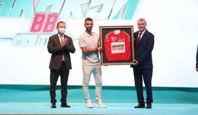 """yüce'den BMX Dünya Kupası lansmanında """"Bisiklet Şehri"""" vurgusu  """"Bisiklet sporunun kalbi 2021'de Sakarya'da atacak"""""""
