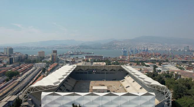 100 yıllık dostluğun simgesi İzmir Alsancak Stadyumu açılıyor!     İzmir Alsancak Stadyumu kapılarını açmaya hazırlanıyor!