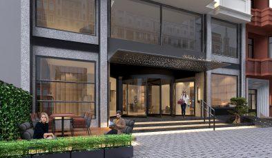Designist'ten İstanbul'un Tarihinden İlham Alan Bir Otel Yapısı:  LAMARTİNE OTEL TAKSİM