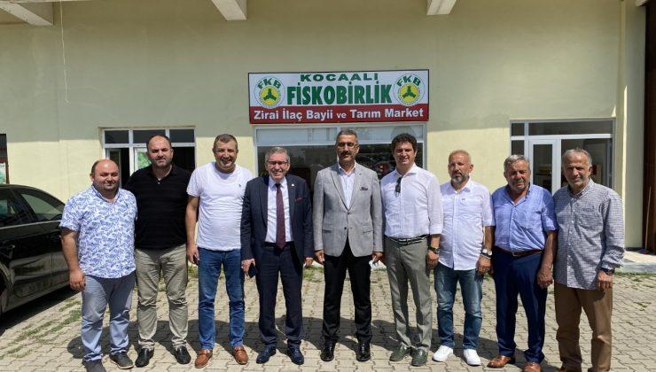 ASKF Yönetimi, Fiskobirlik yönetim kurulu Başkanını ziyaret etti.