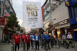 Adapazarı Belediyesi'nden Bisiklet Turu Pedallar Kurtuluş İçin Çevrildi