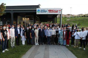 Şampiyonların ve gençlerin tesisi Mola Kıraathanesi kapılarını açtı