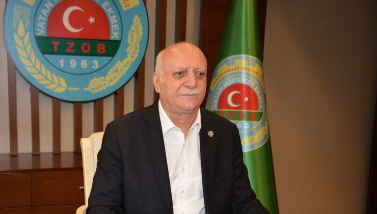 TZOB Genel Başkanı Şemsi Bayraktar- Mayıs 2021 Kuraklık Raporu-