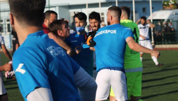 Olaylı maçtan sonra 6 futbolcu disipline sevk edildi.