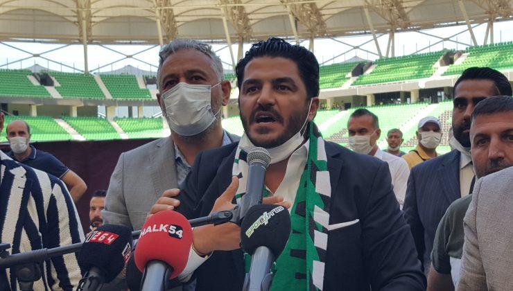 Uğur Akkuş, Sakaryaspor başkanlığı için adaylığını açıkladı