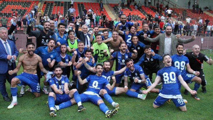 3.Lig'e bir adım kaldı; HENDEKSPOR FİNALDE