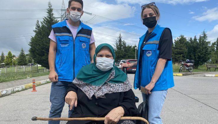 Büyükşehir YADEM'le yaşlılar için aşı olmak çok kolay