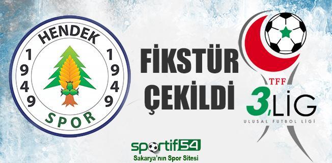 Hendekspor'un maç fikstürü belli oldu