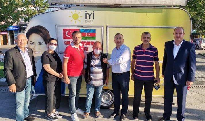 İYİ Parti Adapazarı İlçe Başkanlığı üye çalışmalarına devam ediyor