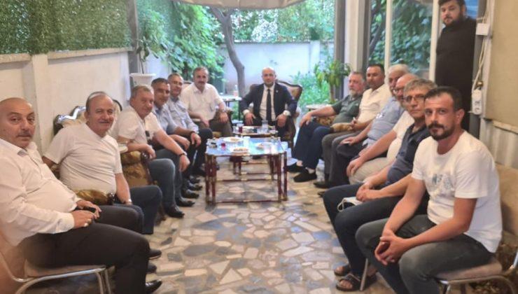 İYİ Parti Kocaalililer Derneği'ni ziyaret etti