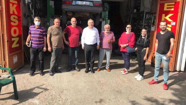 İYİ Parti Adapazarı ziyaretlerini sürdürüyor