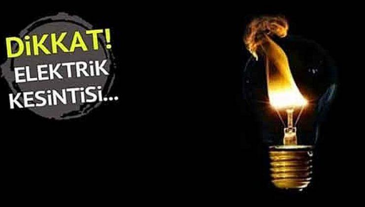 8 ilçede elektrikler kesilecek! Adapazarı, Serdivan…