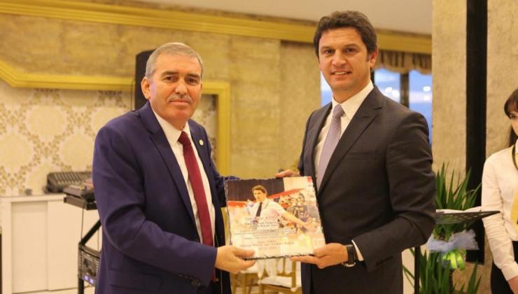 ASKF Başkanı Yaşar Zımba, Başarılar diledi.