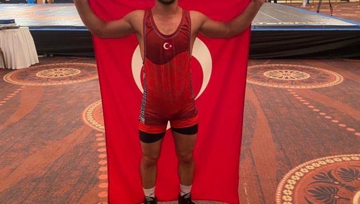 Başarılı güreşçi ikinci altın madalya için minderde olacak