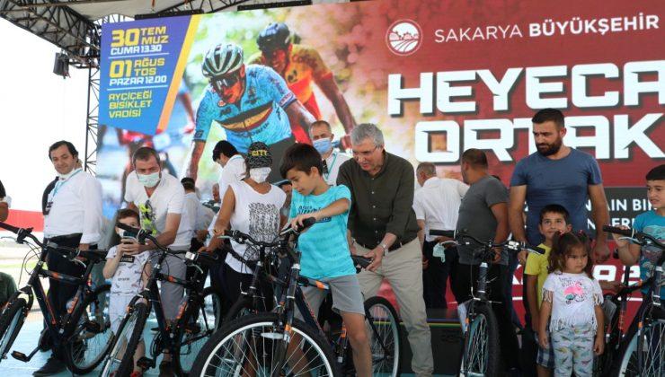 """110 kilometrelik MTB Cup Maratonu Sakarya'da nefes kesti  """"Dünya Sakarya'yı 'bisiklet dostu' ünvanıyla tanıyacak"""""""