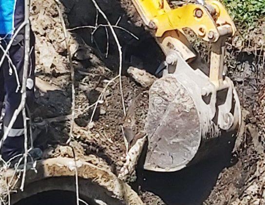 Büyükşehir'den kaçak bağlantıyla çevre kirliliğine müdahale