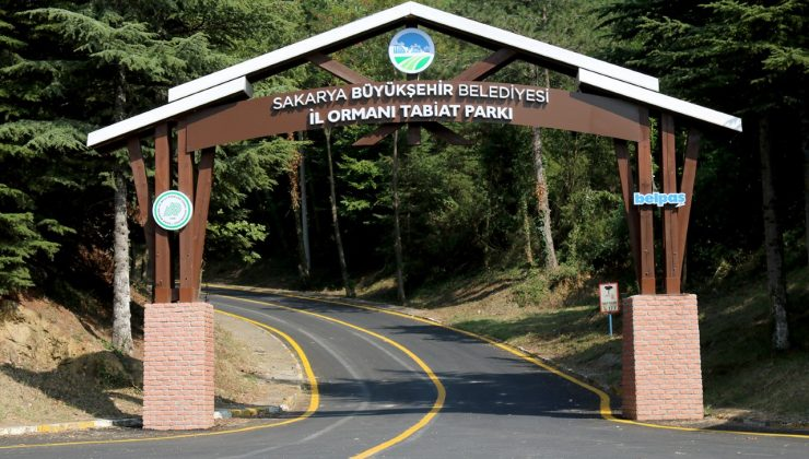 Büyükşehir İl Ormanı yenilenen yüzüyle ziyaretçilerini bekliyor