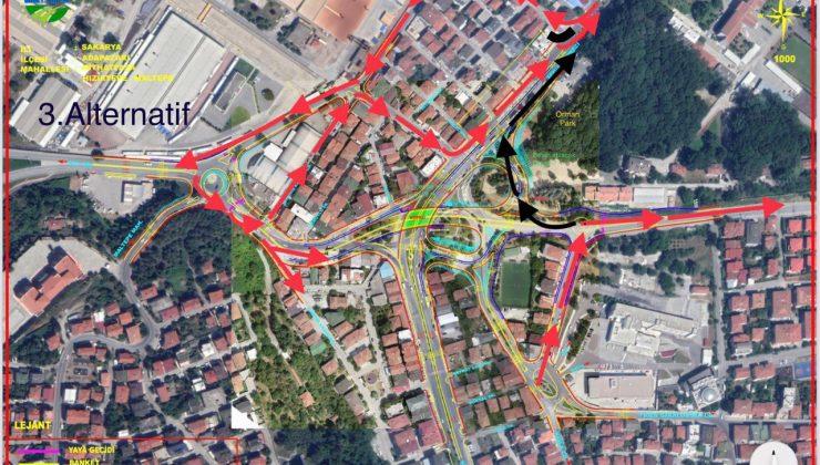 Köprülü kavşak için trafik alternatif güzergâhlardan sağlanacak