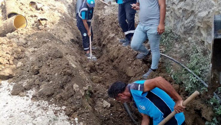 Büyükşehir SASKİ, Erenler Değirmendere'de çalışmaları tamamladı