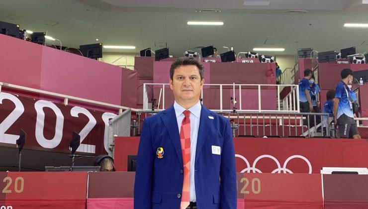 Olimpiyat hakemi Uğur Kobaş Avrupa şampiyonası için Finlandiya'ya gitti.