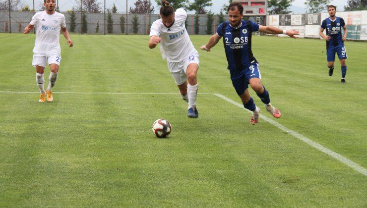 Hendekspor diğer yandan hazırlık maçlarına devam ediyor.