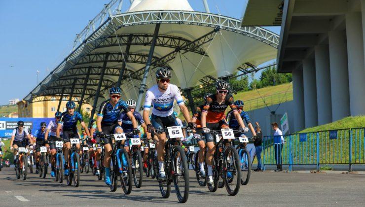 Başkan Ekrem Yüce'den çağrı: Heyecanımıza ortak olun  Start verildi, Bisiklet Vadisi'nde nefes kesen mücadele başladı